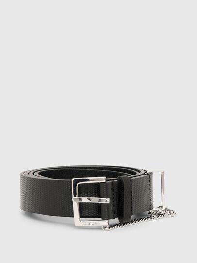 Diesel - B-MALIER, Black - Belts - Image 1