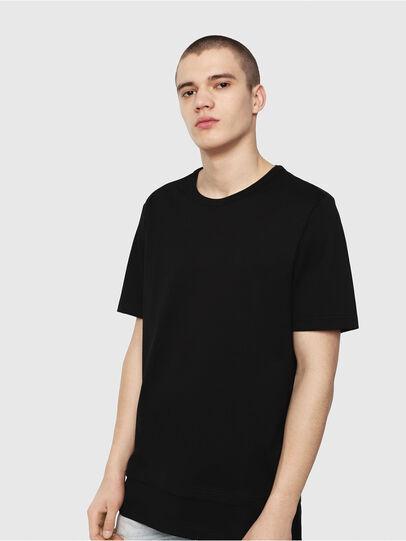 Diesel - T-YORI-Y1, Black - T-Shirts - Image 1