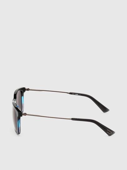Diesel - DL0309, Black/Blue - Sunglasses - Image 3