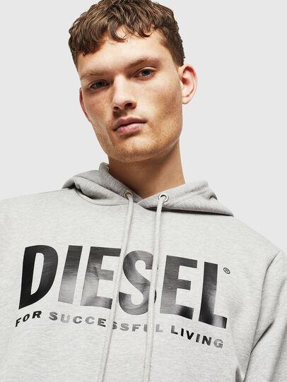 Diesel - S-GIR-HOOD-DIVISION-, Grey - Sweatshirts - Image 5