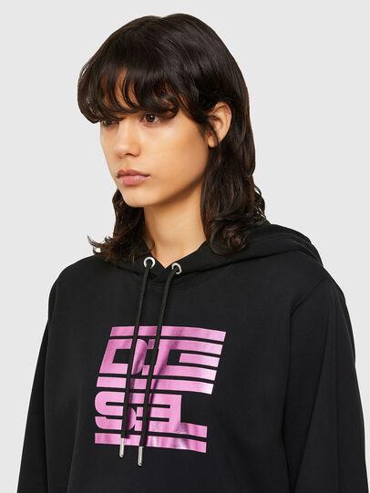 Diesel - F-ANG-HOOD-K23, Black - Sweatshirts - Image 3