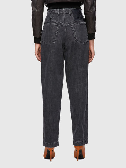 Diesel - D-Concias Boyfriend Jeans 09A69, Black/Dark Grey - Jeans - Image 2