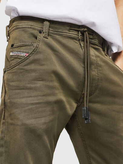 Diesel - Krooley Long JoggJeans 0670M, Military Green - Jeans - Image 3
