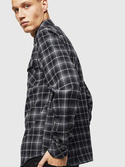 Diesel - S-EAST-LONG-N, Dark Grey - Shirts - Image 4