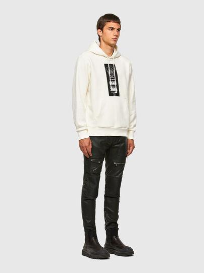 Diesel - S-GIRK-HOOD-N3, White - Sweatshirts - Image 4