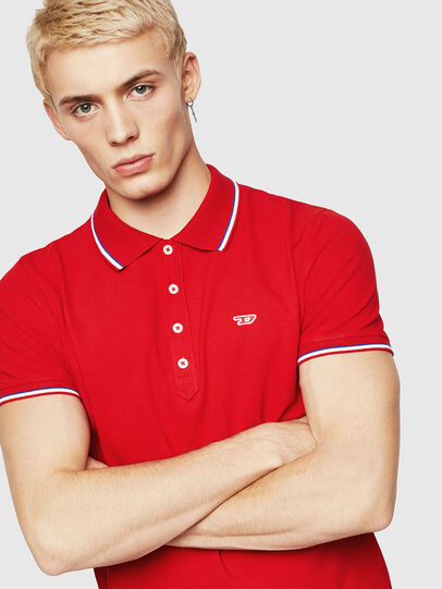 Diesel - T-RANDY-NEW, Fire Red - Polos - Image 4