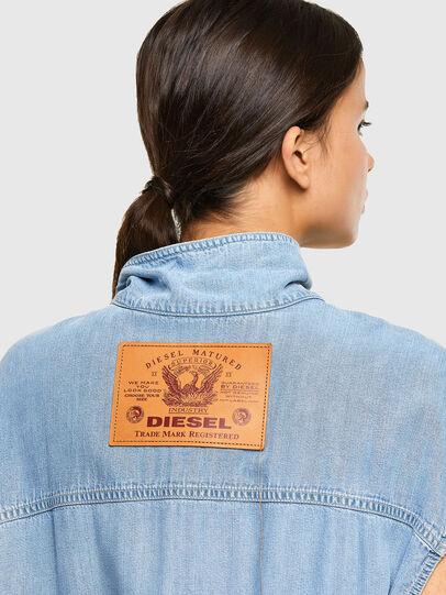 Diesel - DE-CORAL-S-SP, Light Blue - Jumpsuits - Image 4
