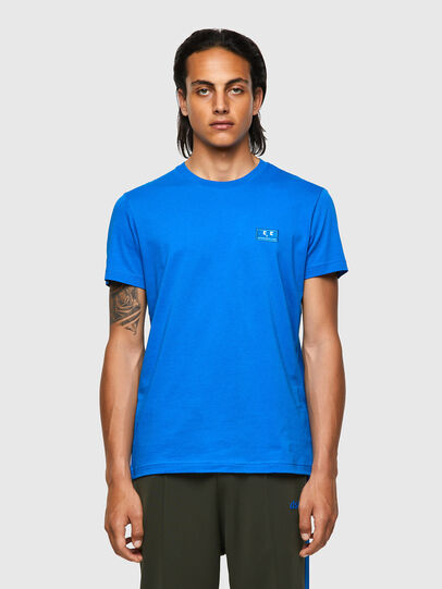 Diesel - T-DIEGOS-E2, Blue - T-Shirts - Image 1