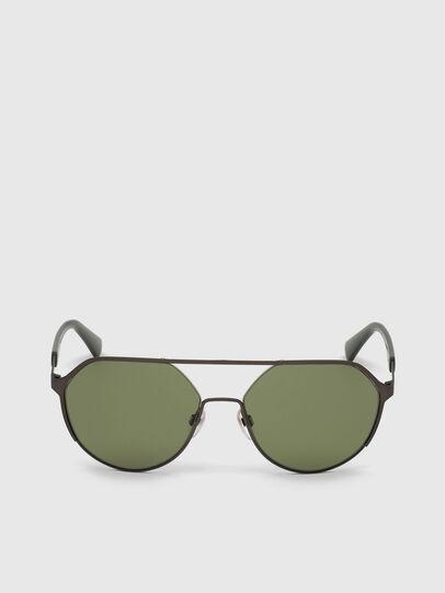 Diesel - DL0324, Black/Green - Sunglasses - Image 1