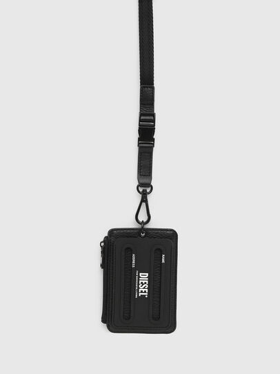 Diesel - CARRYBADGE, Black - Card cases - Image 1