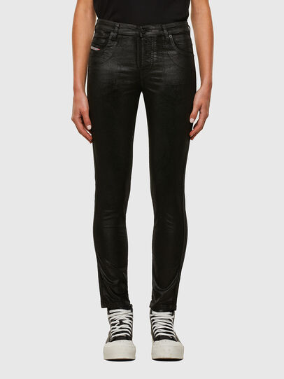 Diesel - Babhila Slim Jeans 069TD, Black/Dark Grey - Jeans - Image 1