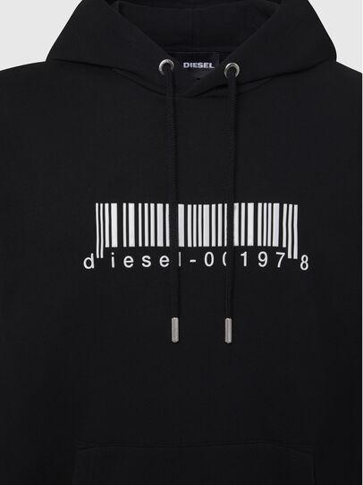 Diesel - S-GIRK-HOOD-X2, Black - Sweatshirts - Image 3