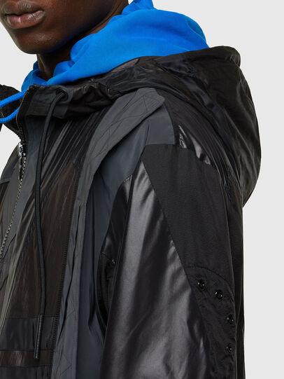 Diesel - J-EDWARD, Black - Jackets - Image 4