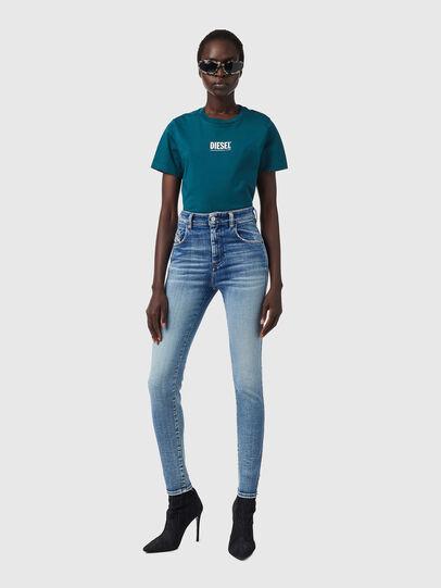Diesel - Slandy High Skinny Jeans 09B09, Light Blue - Jeans - Image 5