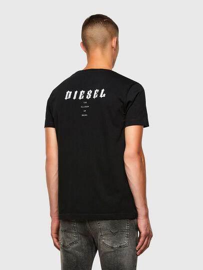 Diesel - T-INY-N1, Black - T-Shirts - Image 3