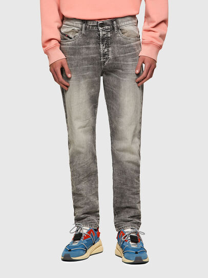 Diesel - D-Fining Tapered Jeans 069SV, Light Grey - Jeans - Image 1