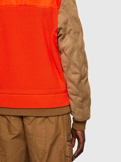 Diesel - K-OHIO, Brown/Orange - Jackets - Image 4