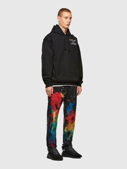 Diesel - D-Kras Slim Jeans 009QV, Black/Dark Grey - Jeans - Image 6