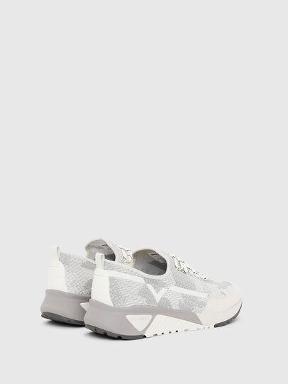 Diesel - S-KBY, Grey/White - Sneakers - Image 3