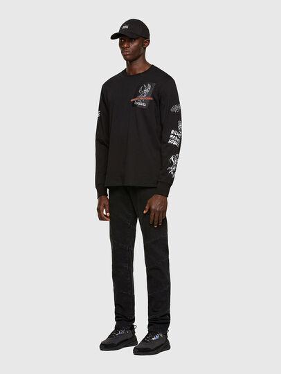 Diesel - D-Kras Slim Jeans 009RC, Black/Dark Grey - Jeans - Image 6