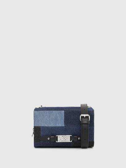 Diesel - CROSSAGE, Blue - Crossbody Bags - Image 5