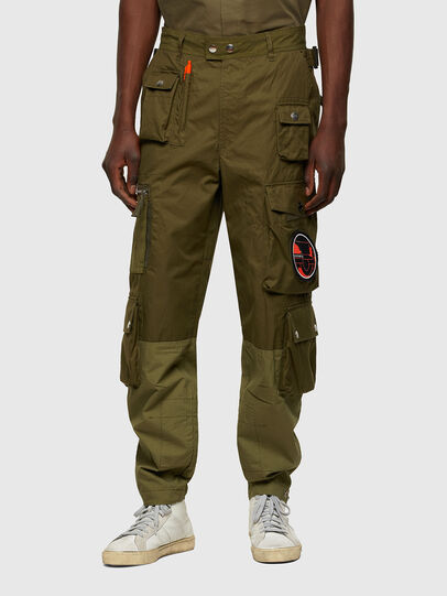 Diesel - P-CYAN, Military Green - Pants - Image 1
