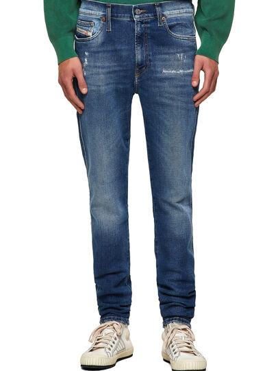Diesel - D-Istort Skinny Jeans 009PU, Medium Blue - Jeans - Image 1