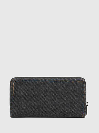Diesel - 24 ZIP, Black Jeans - Zip-Round Wallets - Image 2