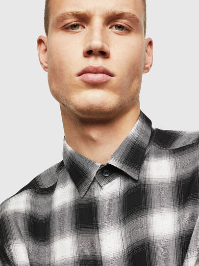 Diesel - S-MARLENE-C, Black/White - Shirts - Image 3
