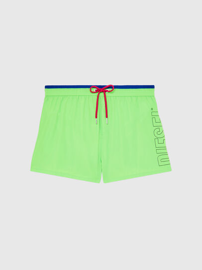 Diesel - BMBX-SANDY 2.017, Green Fluo - Swim shorts - Image 5