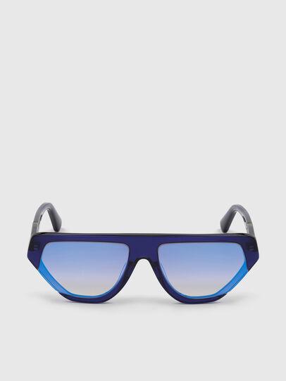 Diesel - DL0322, Azul - Gafas de sol - Image 1
