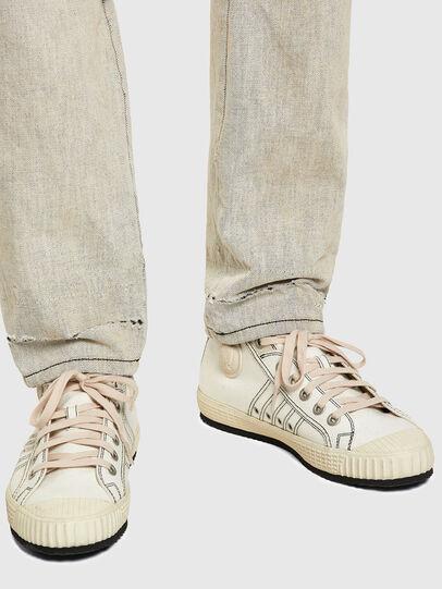 Diesel - D-Kras Slim Jeans 09A53, White - Jeans - Image 4