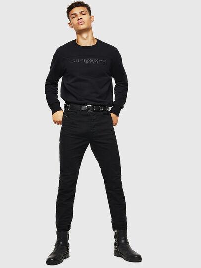 Diesel - S-CORY, Black - Sweatshirts - Image 4