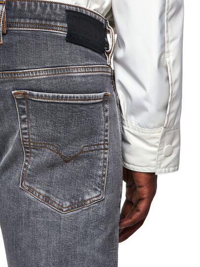 Diesel - Sleenker Skinny Jeans 009FW, Light Grey - Jeans - Image 3