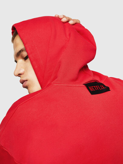 Diesel - LCP-S-ALBY-RIO, Red - Sweatshirts - Image 6