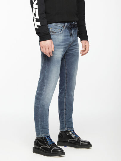 Diesel - Thommer JoggJeans 0699Y, Medium blue - Jeans - Image 3