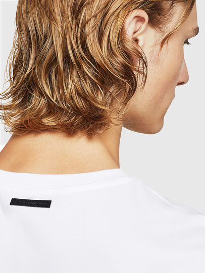 Diesel - TEORIALE-X2, White - T-Shirts - Image 5