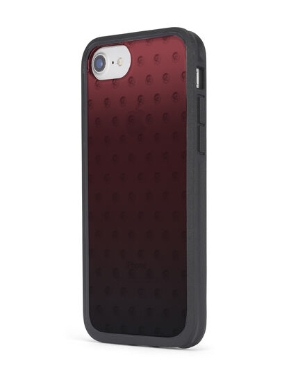 Diesel - MOHICAN HEAD DOTS RED IPHONE X CASE, Red - Cases - Image 6