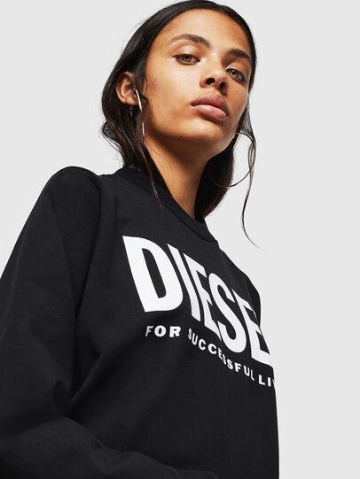 Diesel - F-ANG, Black - Sweatshirts - Image 3