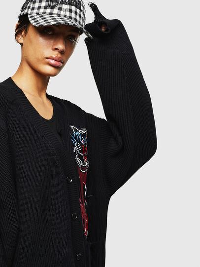 Diesel - M-JENNY, Black - Sweaters - Image 5