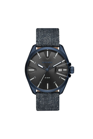 MS9 three-hand denim watch