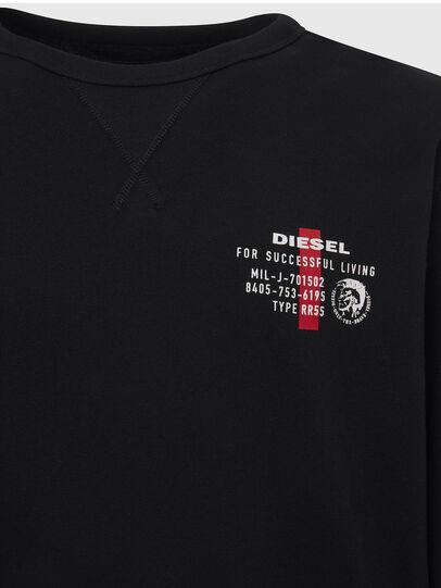 Diesel - UMLT-WILLY, Black - Sweatshirts - Image 3