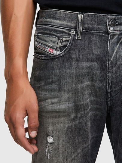 Diesel - D-Strukt Slim JoggJeans® 09B54, Black/Dark Grey - Jeans - Image 3