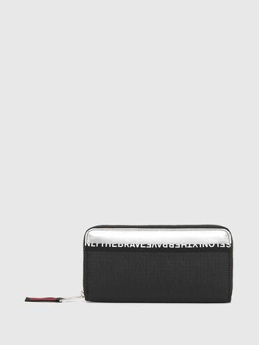 Zip-around wallet in X-pack fabric