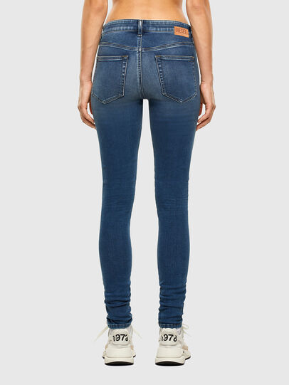 Diesel - Slandy Skinny Jeans 084NM, Medium Blue - Jeans - Image 2
