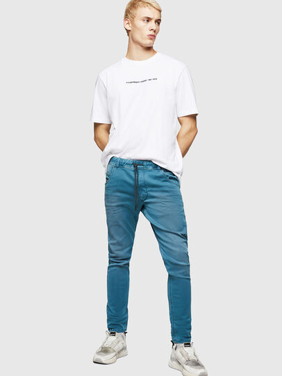 Diesel - Krooley JoggJeans 0670M, Light Blue - Jeans - Image 6