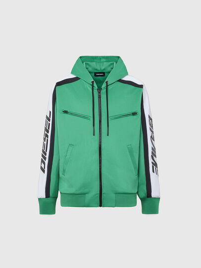 Diesel - S-STEEL, Green - Sweatshirts - Image 1