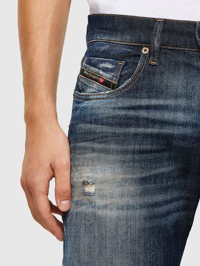 Diesel - D-Strukt 009JT, Dark Blue - Jeans - Image 3
