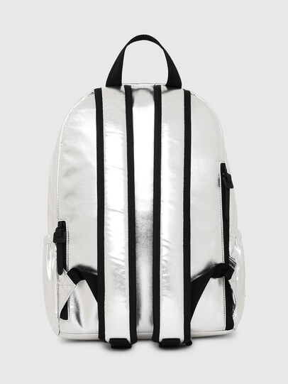 Diesel - F-BOLD BACK II, Silver - Backpacks - Image 3