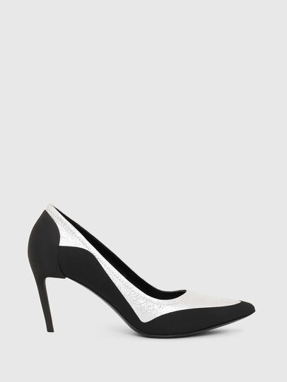 Diesel - D-SLANTY MHB, Black/White - Heels - Image 1